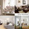 Біла стіна в дизайні інтер`єру, шпалери для стін, фото.