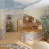 Кам`яні шпалери - ультратонкий облицювальний камінь для інтер`єрів.