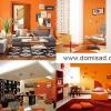 Помаранчеві стіни в інтер`єрі, з чим поєднувати помаранчевий колір?