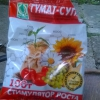 Підживлення томатів препаратом гумат супер