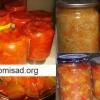 Рецепти салатів з кабачків на зиму - лечо, тещин язик і по-корейськи.