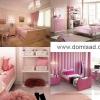 Рожева спальня - поради по дизайну в ніжних тонах, фото.