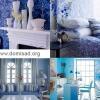 Синьо-блакитний колір в дизайні інтер`єру, відтінки блакитного і синього.