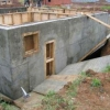 Будуємо будинок з монолітного бетону - технології для фундаменту і стін.