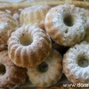 Смачні кекси у формочках з родзинками - простий рецепт з фото.