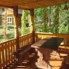 Вибір дерев`яної веранди до будинку і її декор (прикраса).
